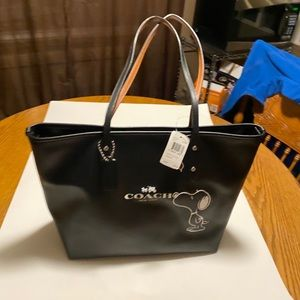 Coach Snoopy City Tote